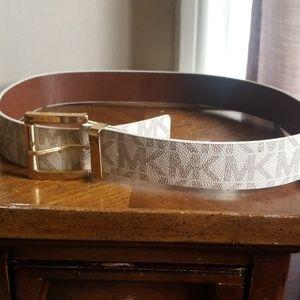 Authentic Michael Kors signature belt